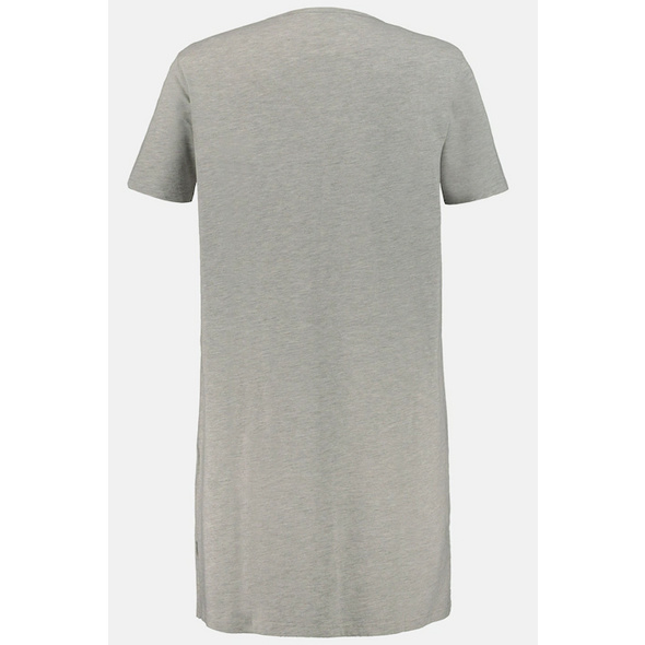 Longshirt, Kronenmotiv, Biobaumwolle