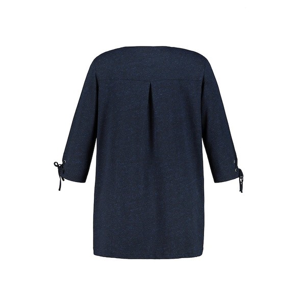 Shirt, Zierbänder, A-Linie, Ärmel-Zierschnürung, 3/4-Arm