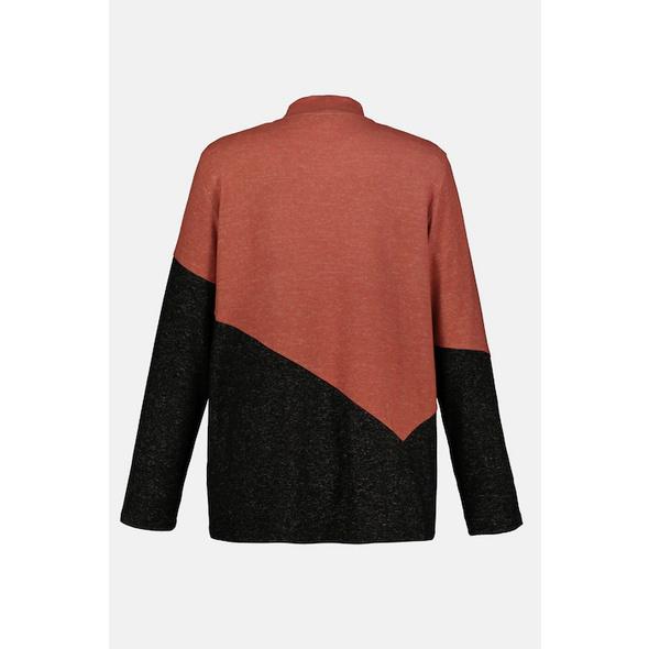 Pullover, kuschelweich, Colorblocking, Langarm