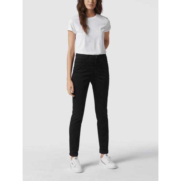 Slim Fit Hose mit Ziersteinbesatz Modell 'Mary'