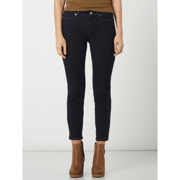 Skinny Fit Jeans mit Stretch-Anteil Modell 'Piera'