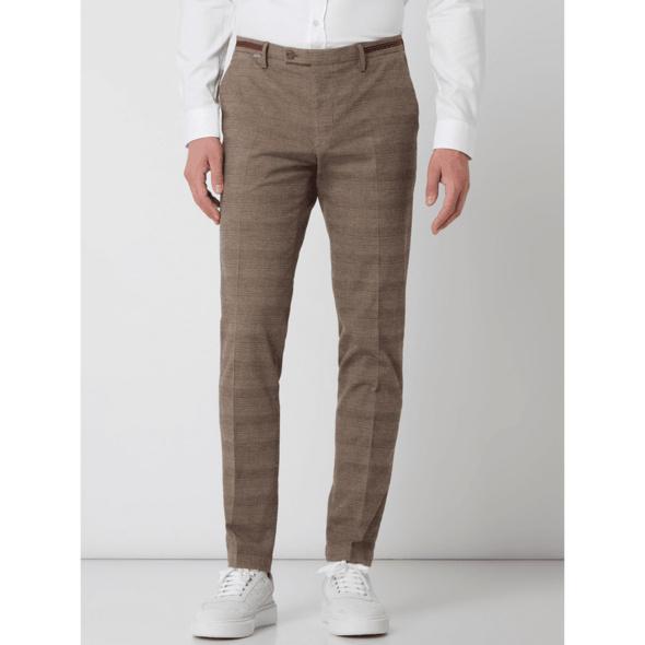 Slim Fit Anzughose mit Stretch-Anteil Modell 'Cibravo'