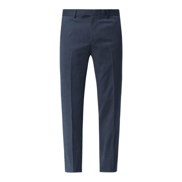 Anzughose mit Stretch-Anteil in gerader Passform Modell 'Greg'