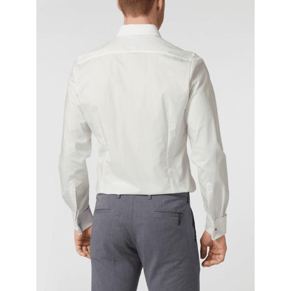 Slim Fit Smokinghemd mit Stretch-Anteil