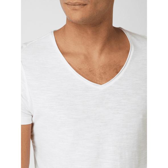 Longshirt aus Slub Jersey