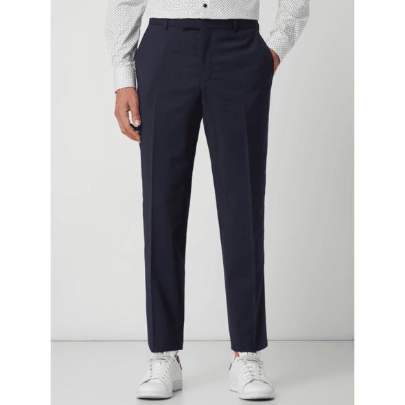 Regular Fit Anzughose aus Schurwolle