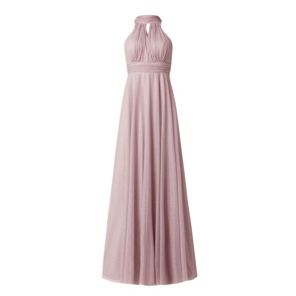 Abendkleid mit Glitter-Effekt