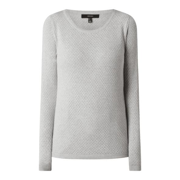 Pullover mit strukturiertem Maschenbild Modell 'Care'