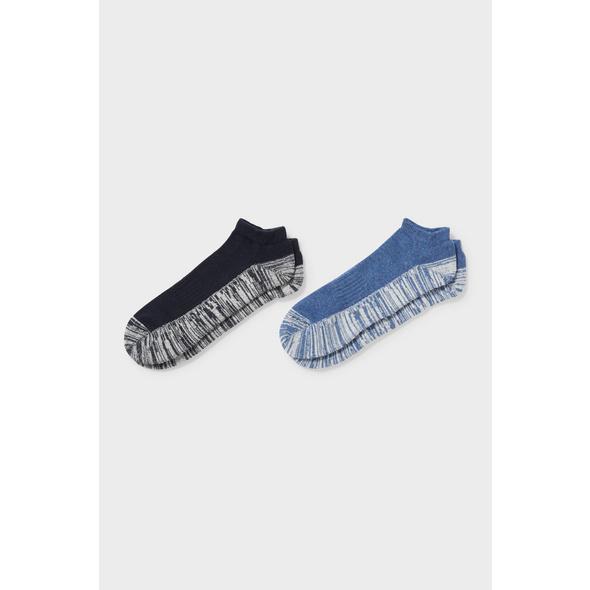 Multipack 2er - Sneakersocken - Bio-Baumwolle