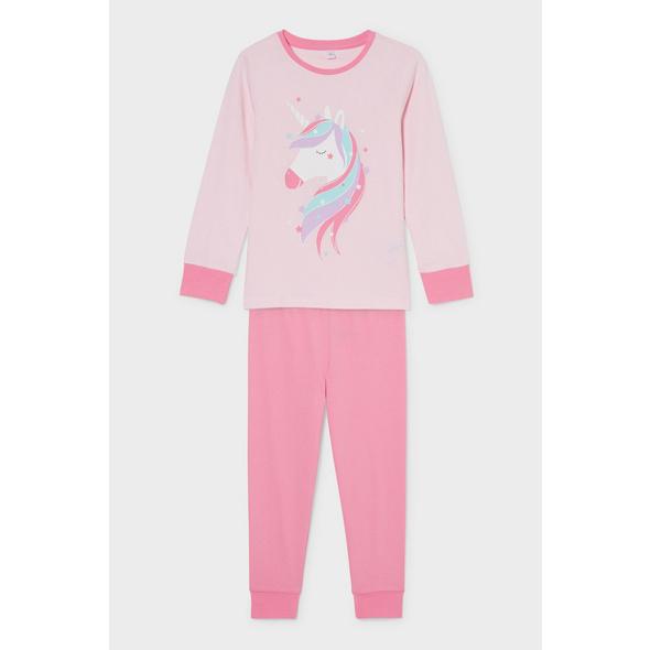 Einhorn - Pyjama - 2 teilig