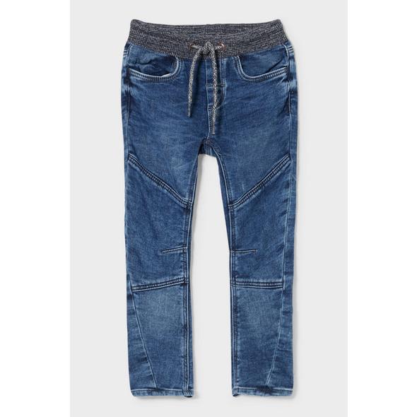 Curved Jeans - Jog Denim - Bio-Baumwolle