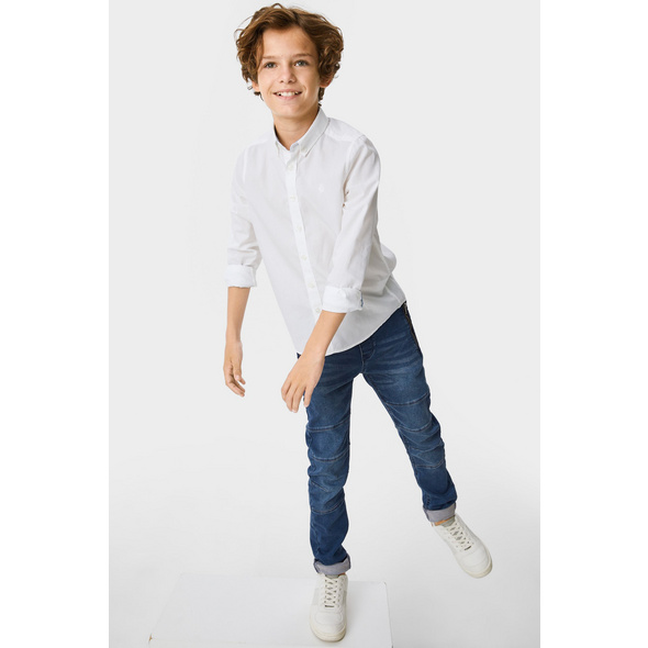Slim Jeans - Jog Denim - Bio-Baumwolle