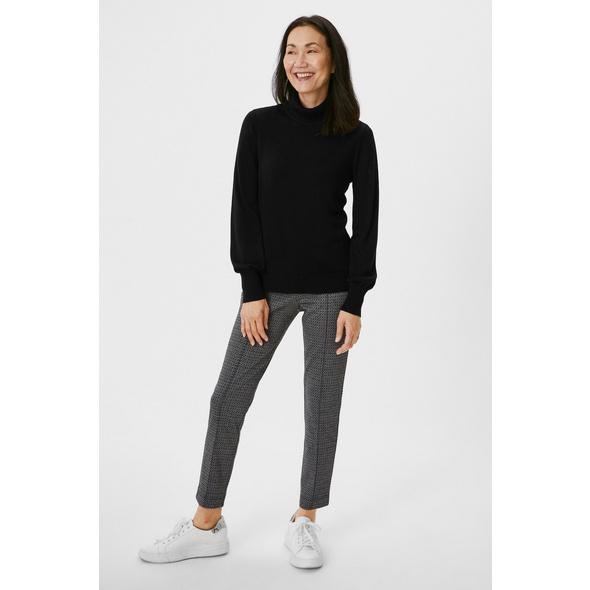 Jersey-Hose - Slim Fit