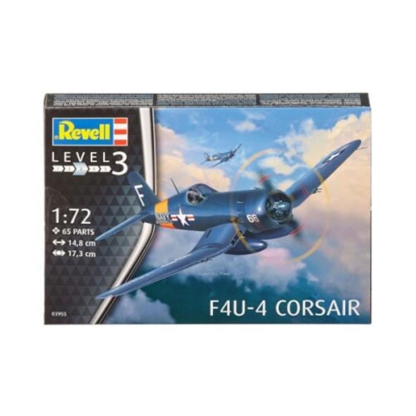 Revell 03955 F4U-4 Corsair 1:72, ab 10 Jahre