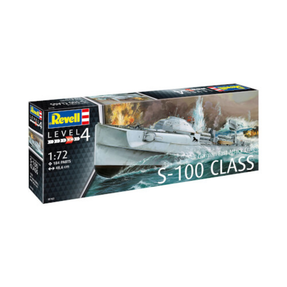 REVELL German Fast Attack Craft S-100 1:72