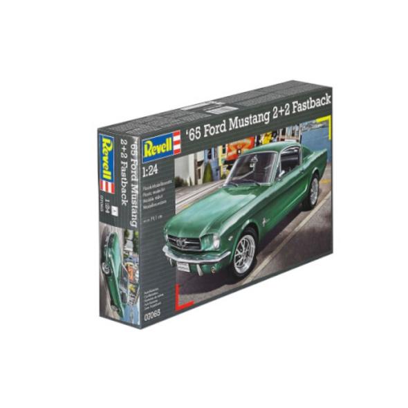 REVELL 07065 Modellbausatz 1965 Ford Mustang 2+2 Fastback 1:24