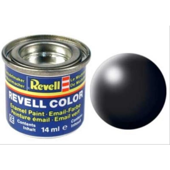 REVELL 32302 schwarz, seidenmatt RAL 9005 14 ml-Dose