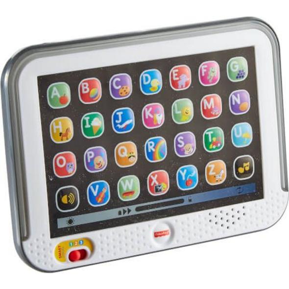 Mattel Fisher Price CDG57 Lernspaß Tablet, grau