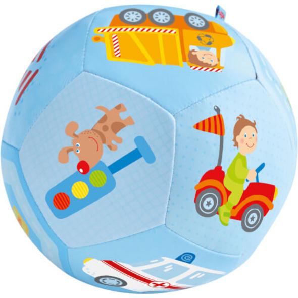 HABA Babyball Fahrzeug-Welt