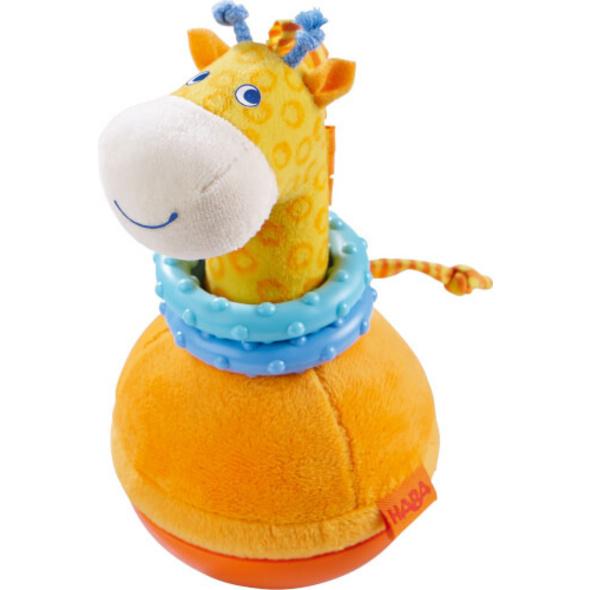 HABA - Stehauffigur Giraffe, ca. 18 cm, ab 6 Monaten