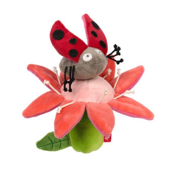 Sigikid Rassel Blume und Käfer