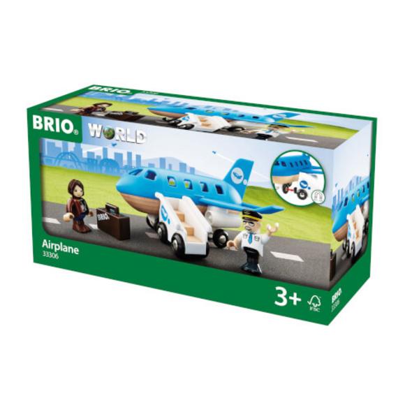 BRIO 63330600 Blaues Flugzeug
