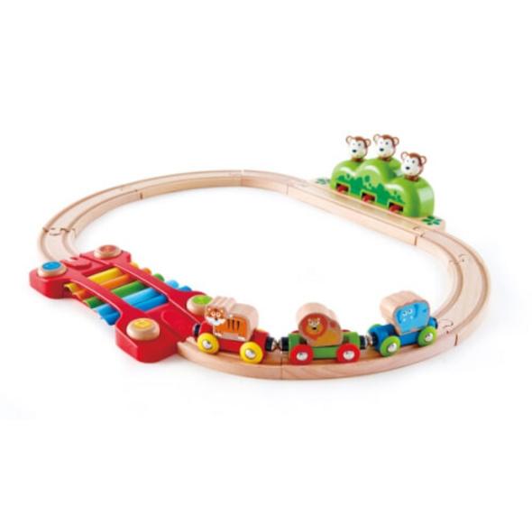 Hape Kleines Tier-Eisenbahnset