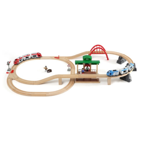 BRIO 63351200 Großes Bahn Reisezug Set