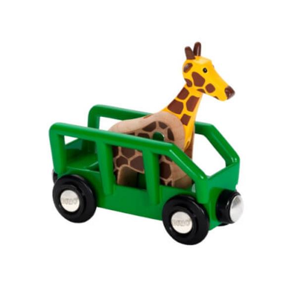 BRIO 63372400 Giraffenwagen