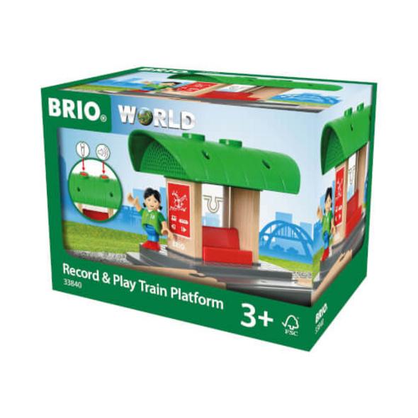 BRIO 63384000 Bahnhof mit Aufnahmefunktion