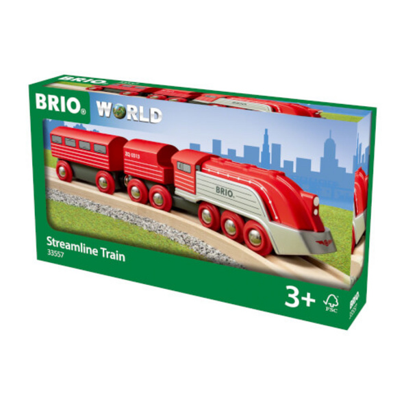 BRIO 63355700 Highspeed-Dampfzug