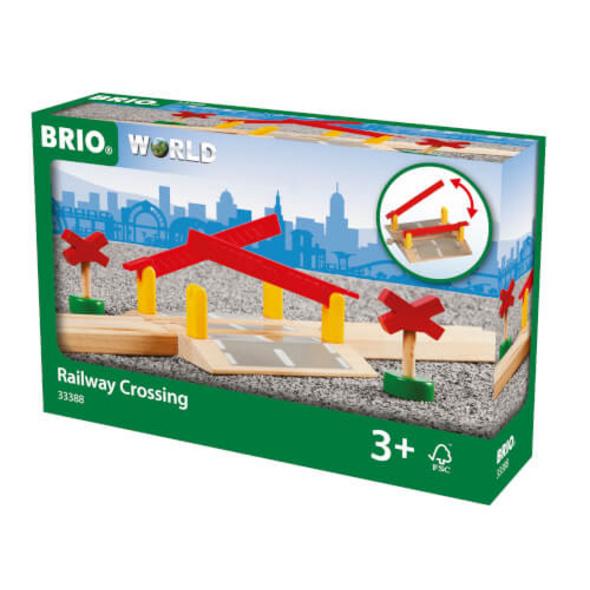 BRIO 63338800 Bahnübergang