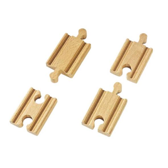 BRIO 63333300 1/4 Gerade Gleise (A2,B2,C2)