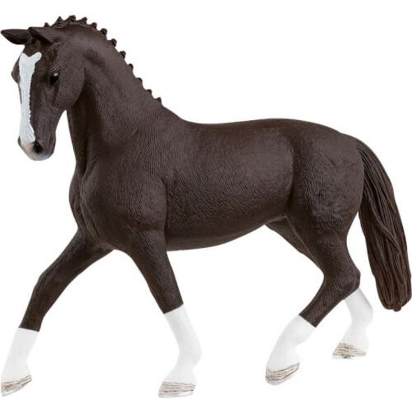 Schleich Horse Club 13927 Hannoveraner Stute, Rappe