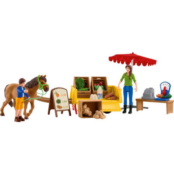 Schleich Farm World 42528 Mobiler Farm Stand