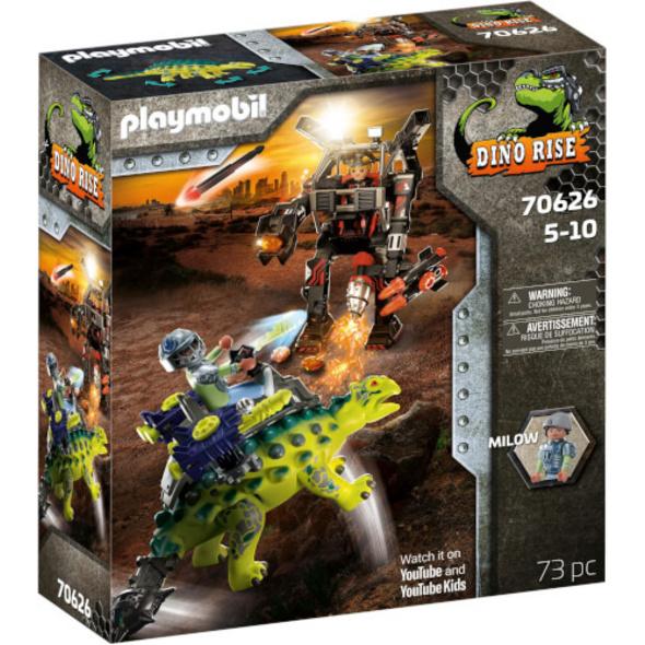 Playmobil 70626 Dino Rise Saichania: Abwehr des Kampfläufers