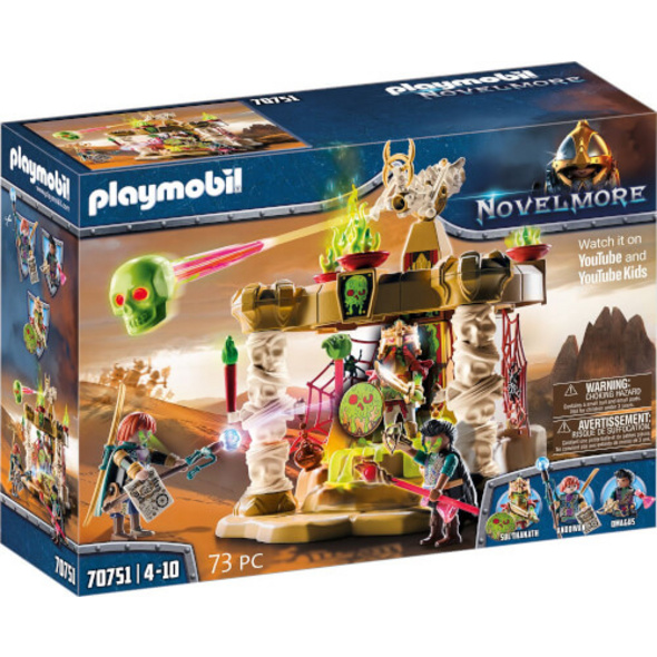 Playmobil 70751 Novelmore, Saláhari Sands # Tempel der Skelettarmee