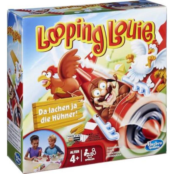 Hasbro 15692398 Looping Louie, für 2-4 Spieler, ab 4 Jahren