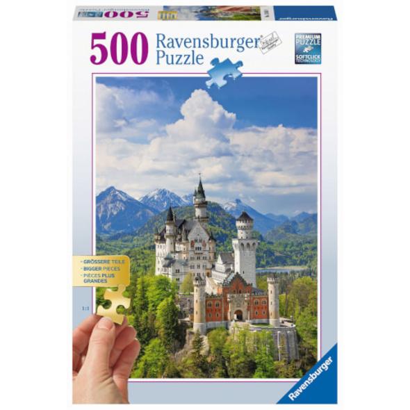 Ravensburger 13681 Puzzle Märchenhaftes Schloss 500 Teile