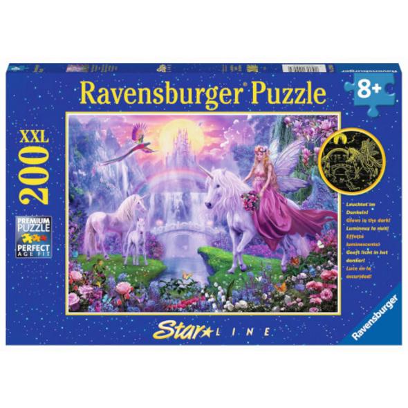 Ravensburger 12903 Puzzle Magische Einhornnacht 200 Teile