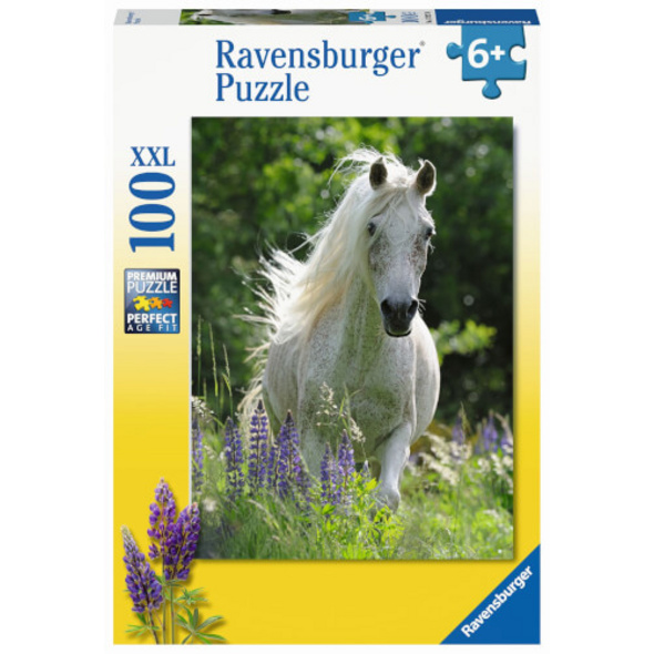 Ravensburger 12927 Puzzle Weiße Stute 100 Teile