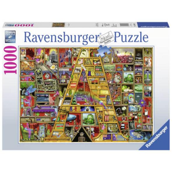 Ravensburger 19891 Puzzle Awesome Alphabet A 1000 Teile