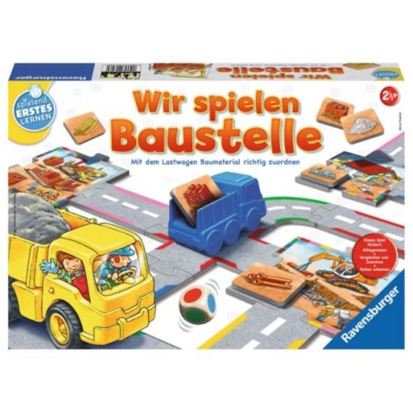 Ravensburger 24726 Wir spielen Baustelle