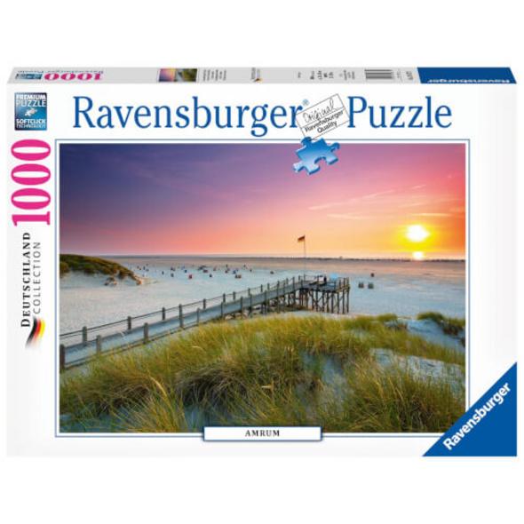 Ravensburger 19877 Puzzle: Sonnenuntergang über Amrum 1000 Teile