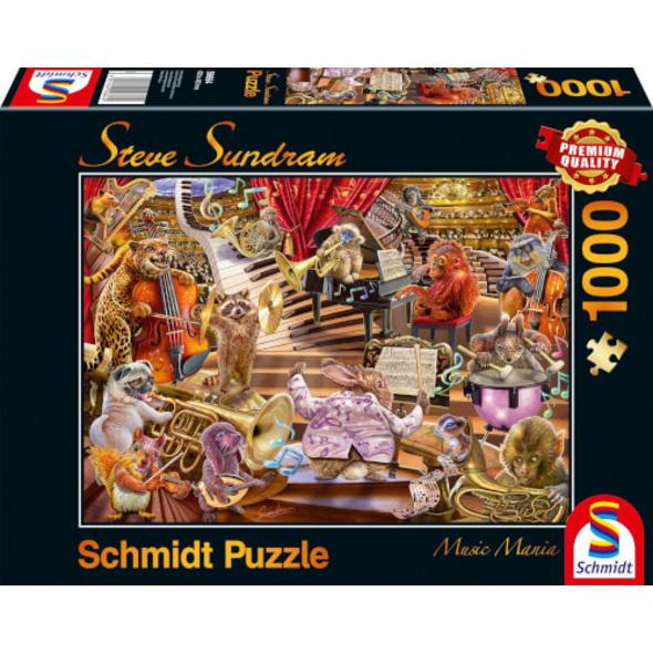 Schmidt Spiele Puzzle Music Mania 1000 Teile