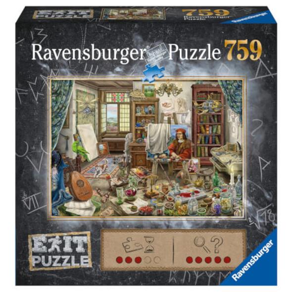 Ravensburger 16782 Exit Das Künstleratelier 759 Teile