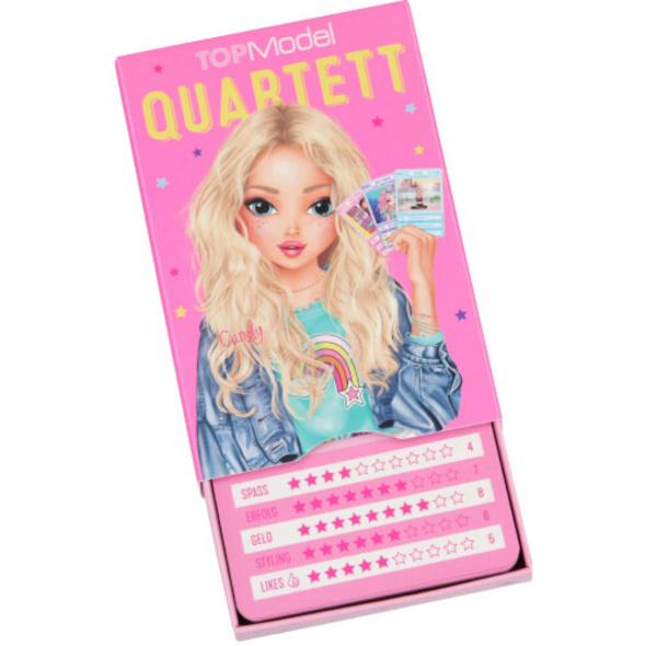 TOPModel Spielkarten Quartett