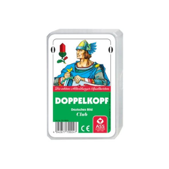 ASS Doppelkopf, deutsches Bild. Kartenspiel