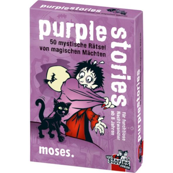 moses black stories Junior - purple stories - 50 mystische Rätsel von magische
