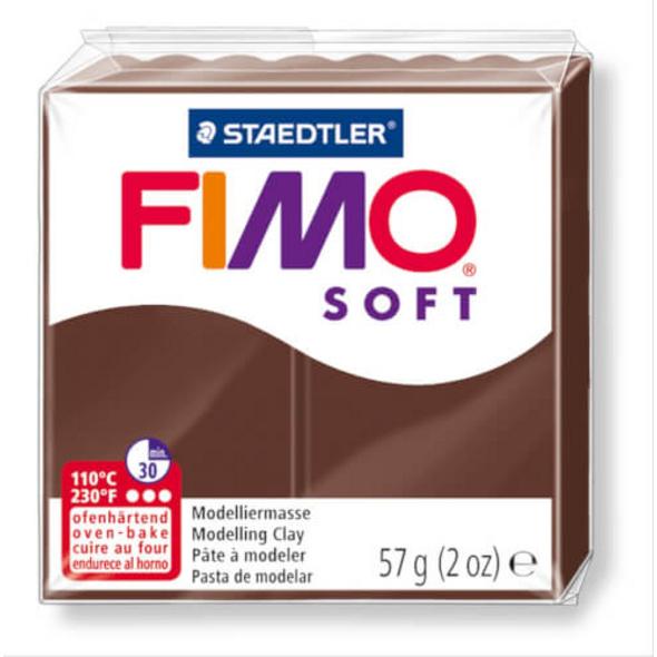 STAEDTLER FIMO soft 8020 - Materialpack á 57 g, schoko